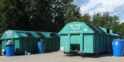 Municipal Recycling Container