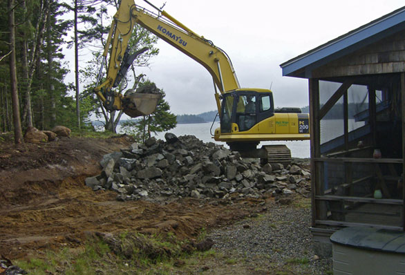 Construction: Earthwork, Site Preparation, and Materials