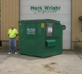 Dumpster Sizes Mark Wright Disposal